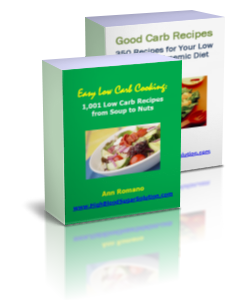 Easy Low Carb Recipes Cookbook Set